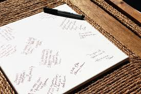 diy wedding guest book alternative stephanie marchetti