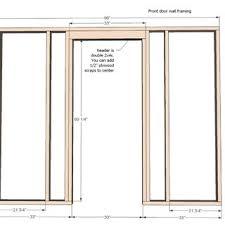 Build Exterior Door Frame Wonderful How To Build Door Frame How To Build A Exterior Door