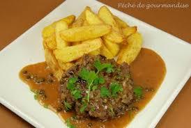 cuisine steak haché steak haché aux cèpes et sauce au poivre vert péché de gourmandise