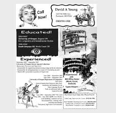 Vintage Resume Template Creative Resumes That Put Yours To Shame Flashuser