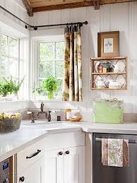 Curtains For Big Kitchen Windows by 55 Best Corner Kitchen Windows Images On Pinterest Kitchen