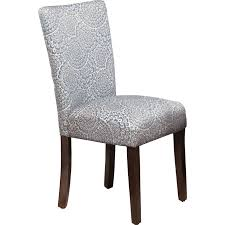 fabric chairs for dining room furniture contemporary fabric with motif floral parson chairs for