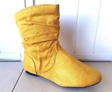 yellow boots s yellow boots for ebay