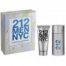 chagne gift set 212 men gift set by carolina herrera 2 gift set 3 4 oz eau