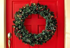 cordless lighted wreath sumoglove