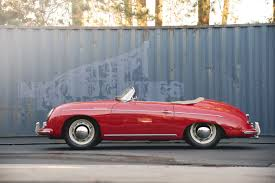 porsche classic speedster 1956 porsche speedster excellent late production pre a road