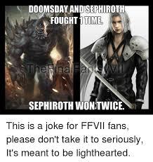 Sephiroth Meme - 25 best memes about ffvii ffvii memes