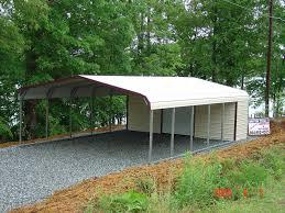 Steel Car Port Carports Metal Garages Steel Buildings Barns Rv Covers