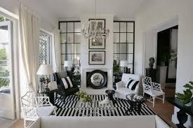 Black And White Living Room Decor Black White Living Room Home Design Plan