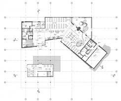 plan architecture tirat carmel library schwartz besnosoff architects