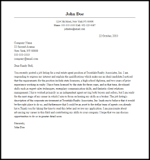 cover letter sle real estate cover letter real estate assistant cover letter sle