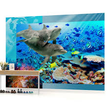 childrens wall murals ebay wall mural photo wallpaper picture 72p dolphin bedroom boys girls children