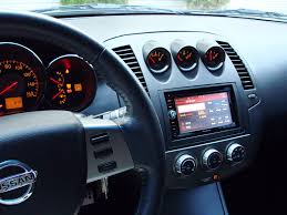nissan altima 2005 double din 2005 nissan altima front speakers size
