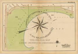 Map Of Boston Ma Antique Atlas Map Print South Boston Massachusetts 1919