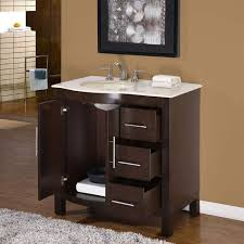 36 silkroad single sink cabinet bathroom vanity hyp