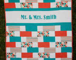 wedding gift quilt guestbook quilt etsy
