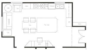kitchen floor plans free kitchen floor plans ideas commercial design and decor layout plan