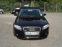 used audi tdi used audi a4 2007 diesel 2 0 tdi tdv s saloon black automatic for