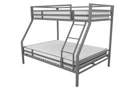 Bunk Bed Metal Frame Novogratz Maxwell Metal Bunk Bed Reviews Wayfair