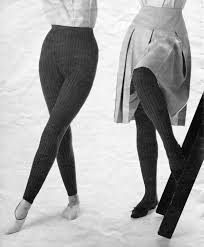 and s 1960s vintage knitted tights hose