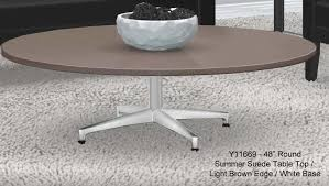 42 round laminate table top designer laminate 16 h coffee tables in round or square 42 square