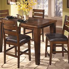 square table with leaf larchmont square counter height dining table and 4 chairs
