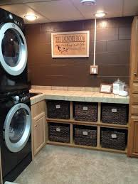 home laundry room cabinets laundry room makeover ideas for your mobile home mobile home living