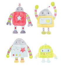 robot baby shower jaimie
