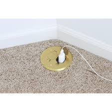 Lew Electric Pop Up Outlet by Lew Electric Pbr1 Fpb 1 Duplex Round Plastic Floor Box Flip