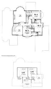 second floor plans house plan 120 2164 4 bedroom 4268 sq ft cape cod european