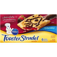 Pillsbury Toaster Strudel Flavors Pillsbury Chocolate Strawberry Toaster Strudel Pastries 6 Count