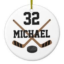 hockey ornaments keepsake ornaments zazzle