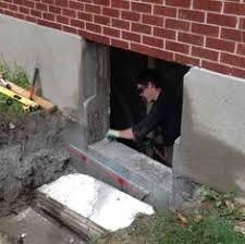 Parge Basement Walls by Case Study Concrete Basement Window Concrete Wall Cut Out And