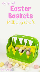 Homemade Easter Baskets by Homemade Easter Baskets Kids Craft Room