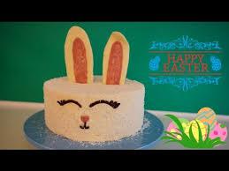 easy last minute easter cake decoration idea bunny cake