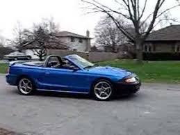 1998 convertible mustang my 1998 ford mustang cobra convertible