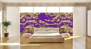 wohnzimmer edel designtapeten in lila violett flieder