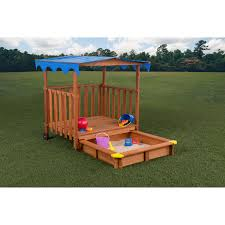 Sandboxes With Canopy And Cover by Kidkraft Outdoor Sandbox With Canopy 165 Hayneedle