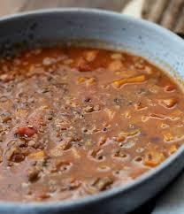 cuisiner les lentilles vertes soupe aux lentilles vertes du puy repas en mode coconing recette