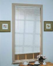 Intercrown Blinds Vinyl Window Mini Blinds Filtering With Light Ebay