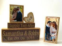 Wedding Gift Decoration Personalized Wedding Gift Decoration Happily Ever After Wedding