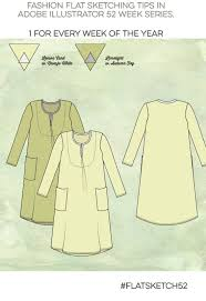 adobe illustrator for fashion design series u2013 dress fashion flat