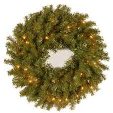 national tree company 24 in valley spruce artificial wreath