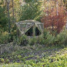 Ground Blinds For Deer Hunting Barronett Bc350bw Hub Blinds 80 X 90 X 90 Big Cat Backwoods Camo