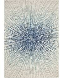 Royal Blue And White Rug Fall Savings On Safavieh Evoke Collection Evk228a Contemporary