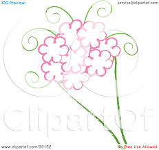 wedding flowers drawing royalty free rf clipart illustration of a drawing of a wedding