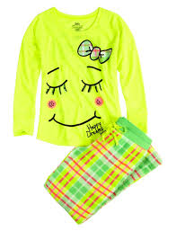 soft fleece smile pajama set pant sets pajamas shop