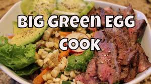 how to use a big green egg for bbq youtube