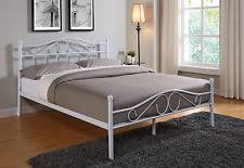 metal bed frame with mattress ebay