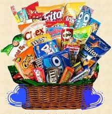 food baskets to send 83 best junk food images on junk food desserts and